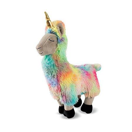 Brinquedo para Cachorro Pelúcia Llamacorn Aurora