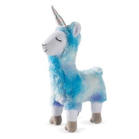 Brinquedo para Cachorro Pelúcia Llamacorn Skye Blue