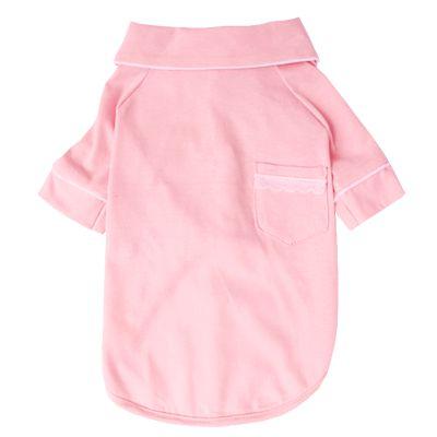 Pijama Camisa para Cachorro e Gato Rosa