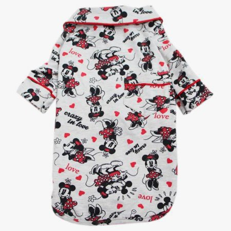 Pijama Camisa para Cachorro e Gato Minnie Love