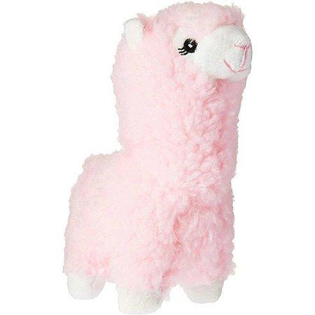 Brinquedo Para Cachorro Pelúcia Lhama Rosa Jambo