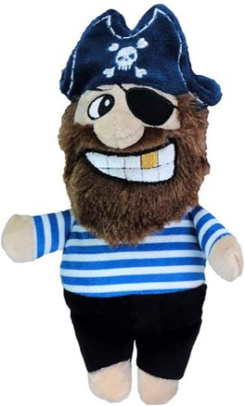 Brinquedo Para Cachorro Pelúcia Pirata Listrado Jambo