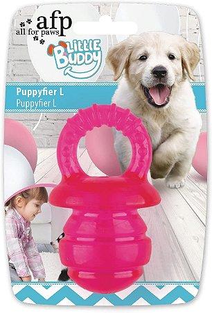 Brinquedo AFP Pups Mordedor Chupeta para Cachorro Pink G