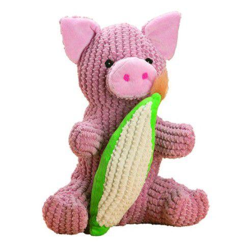 Brinquedo para Cachorro Pelúcia Porco