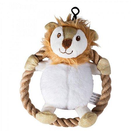 Brinquedo para Cachorro Pelúcia Leão