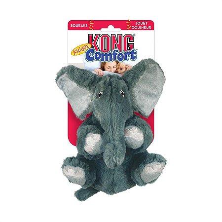 Brinquedo para Cachorro Kong Pelúcia Elefante