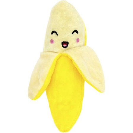 Brinquedo para Cachorro Pelúcia Banana