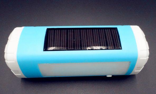 Caixa de Som com Lanterna Led Energia Solar- Bluetooth/TFDCard/Bateria