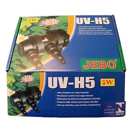 Filtro Jevo Ultra Violeta UV-H5 5W 2P 110V