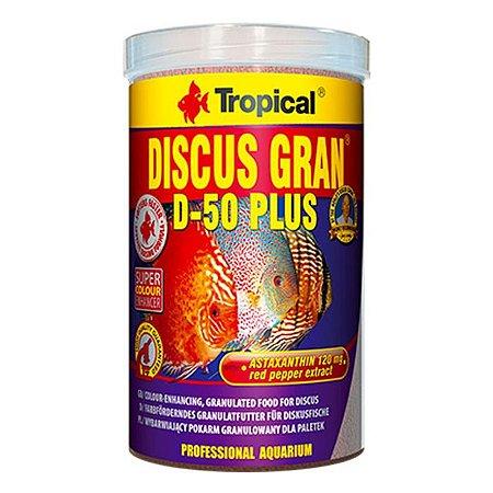 Ração Tropical Discus Gran D-50 Plus 220g
