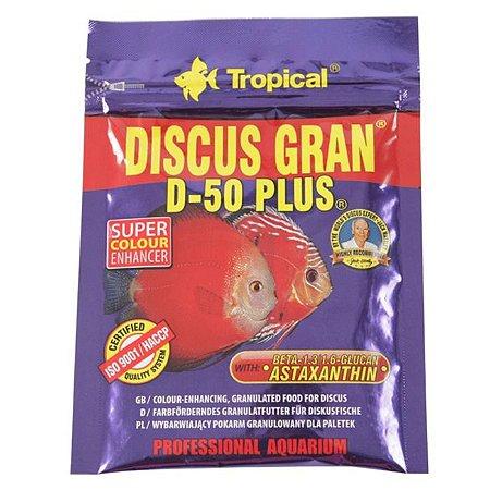 Ração Tropical Discus Gran D-50 Plus Sachê 20g