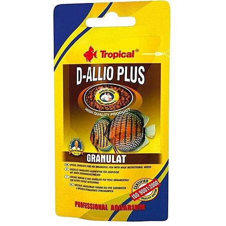 Ração Tropical D-Allio Plus Granulat Sachê 22g