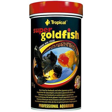 Ração Tropical Super Goldfish Mini Sticks 60g