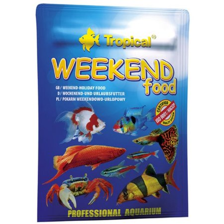 Ração Tropical Weekend Food Sachê 20g