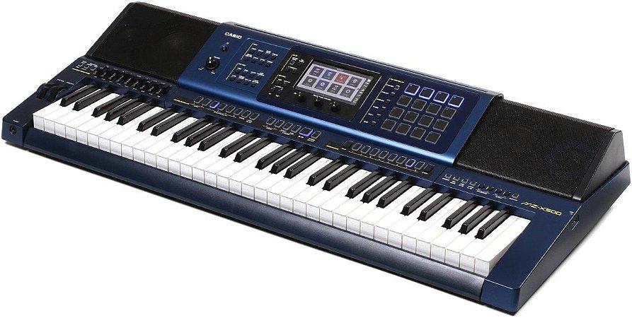 Teclado Casio Arranjador MZ-X500 Completo