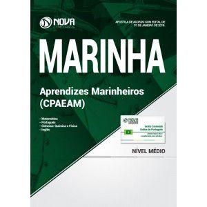 APOSTILA CONCURSO MARINHA 2018 - APRENDIZES MARINHEIROS (CPAEAM)