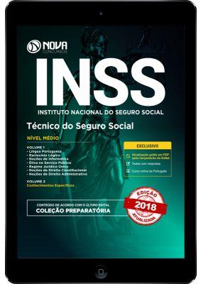Apostila DIGITAL INSS 2018 - Técnico do Seguro Social