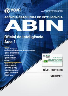 Apostila ABIN 2018 - Oficial de Inteligência - Área 1