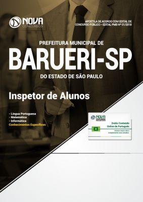 Apostila Prefeitura de Barueri - SP 2018 - Inspetor de Alunos