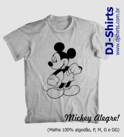 Camiseta Mickey Divertidos (Manga Curta ou Regata)