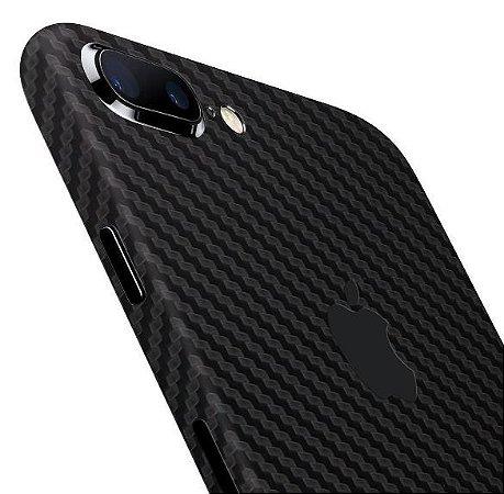 Skin iPhone 7 / Plus - Fibra de Carbono 3M