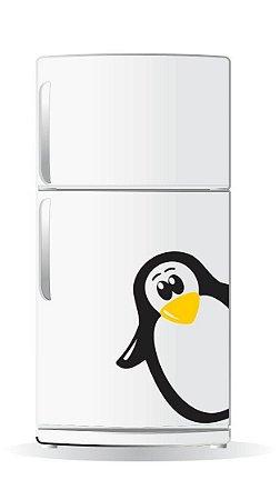 Adesivo de Geladeira - Pinguim