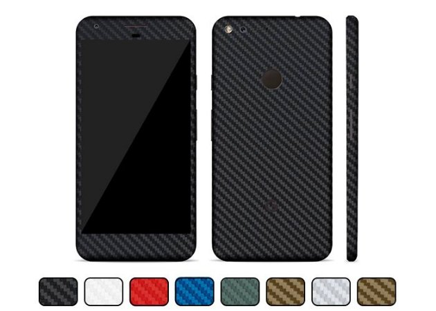 Skin Google Pixel - Fibra de Carbono