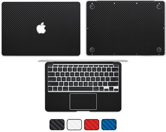 "Skin MacBook Pro 13"" 2011 - Fibra de Carbono"