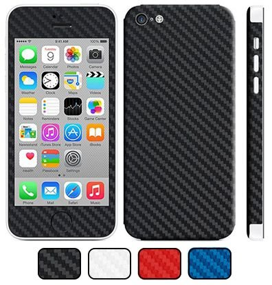Skin iPhone 5C - Fibra de Carbono