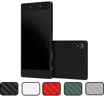 Skin Xperia Z5 - Fibra de Carbono