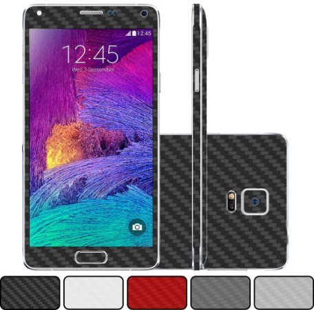 Skin Galaxy Note 4 - Fibra de Carbono