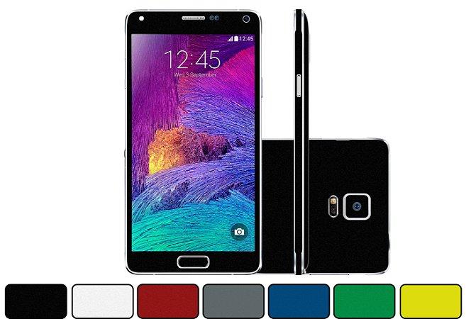 Skin Galaxy Note 4 - Cores Foscas