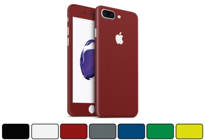 Skin iPhone 7 Plus - Cores Foscas