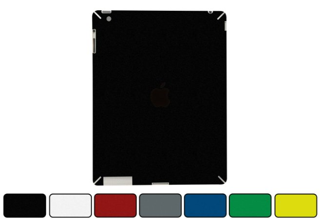 Skin iPad 3 - Cores Foscas