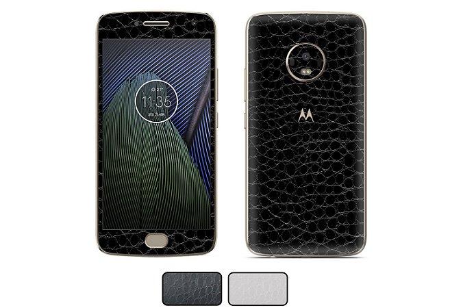 Skin Moto G5 Plus - Couro