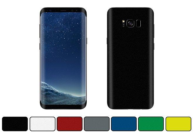Skin Galaxy S8 - Cores Foscas