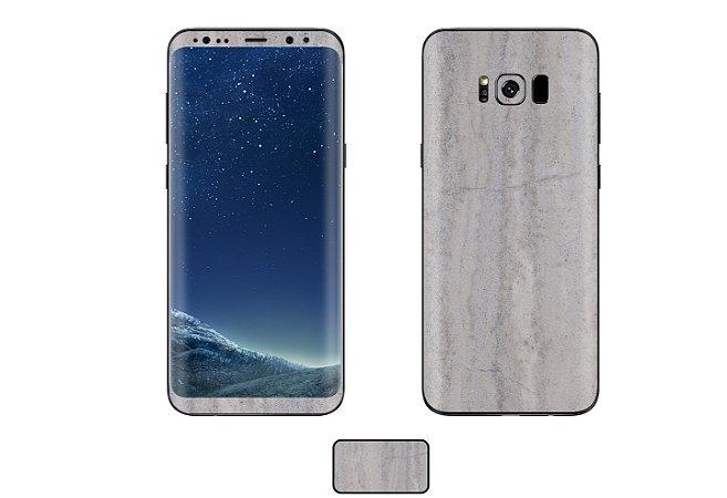Skin Galaxy S8 - Concreto