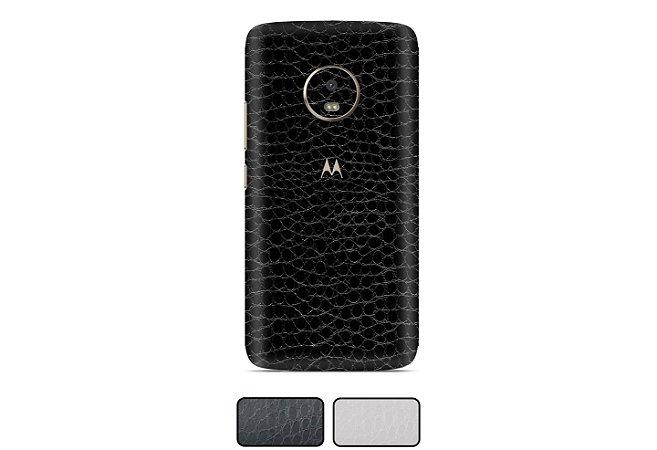 Skin Moto G5 - Couro