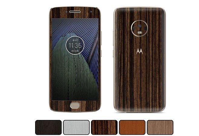 Skin Moto G5 Plus - Madeira