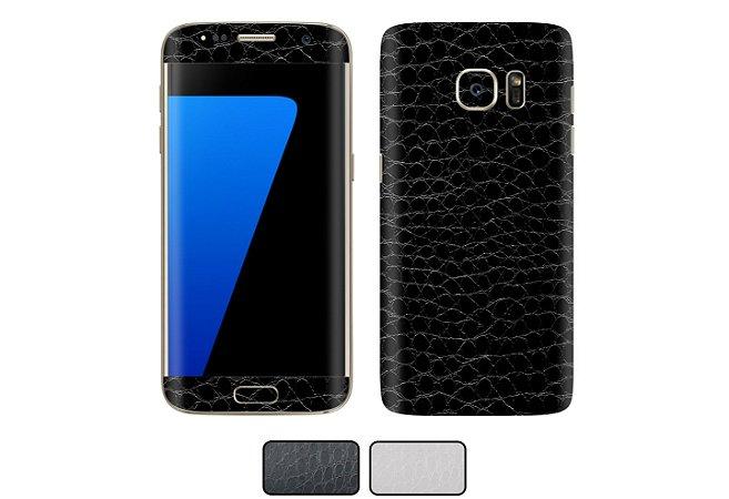 Skin Galaxy S7 - Couro