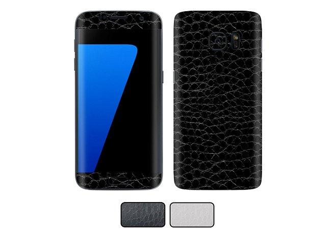 Skin Galaxy S7 Edge - Couro