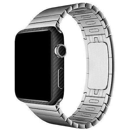Skin Adesivo  3M fibra de carbono para proteção Apple Watch Series 1 - 42mm