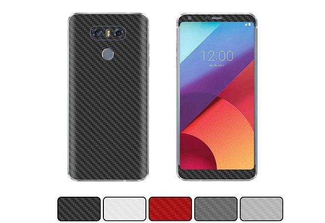 Skin LG G6 - Fibra de Carbono
