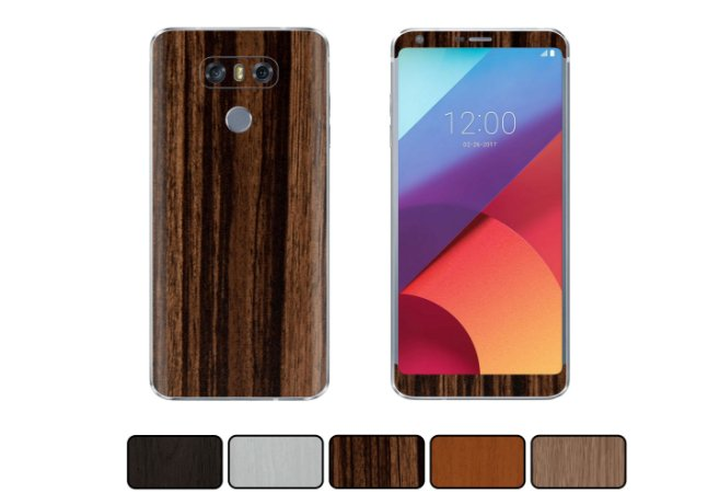 Skin LG G6 - Madeira
