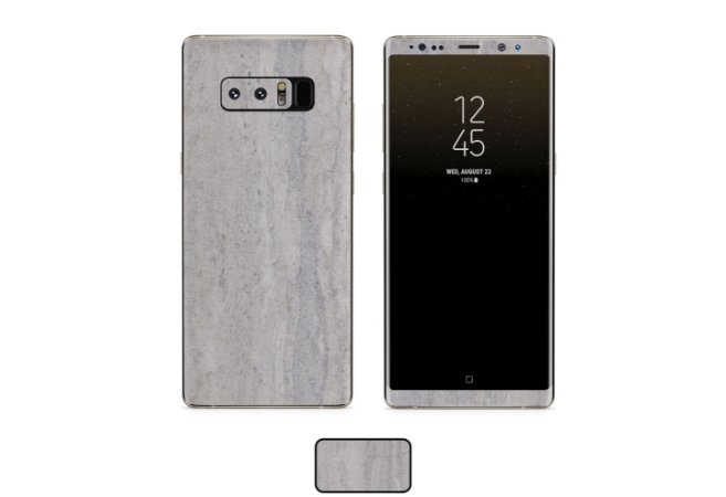 Skin Galaxy Note 8 - Concreto