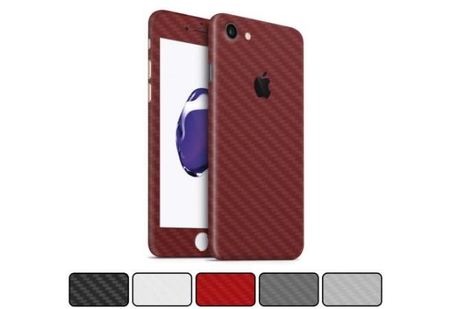 Skin iPhone 8 - Fibra de Carbono