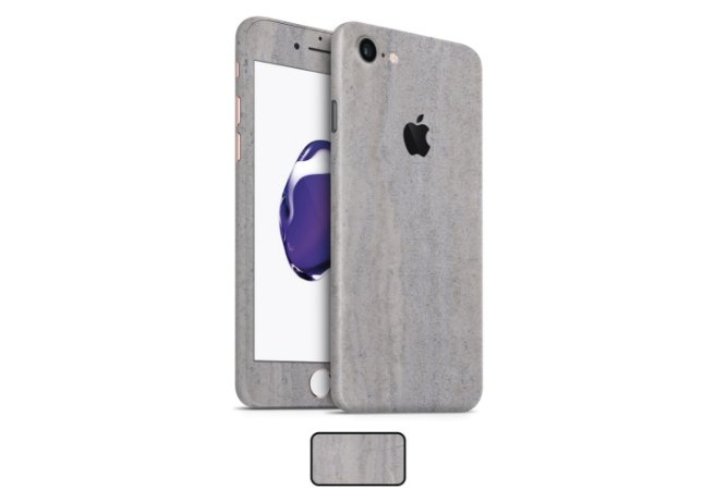 Skin iPhone 7 - Concreto