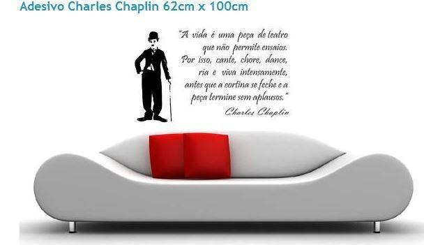 Adesivo de Parede - Charlie Chaplin