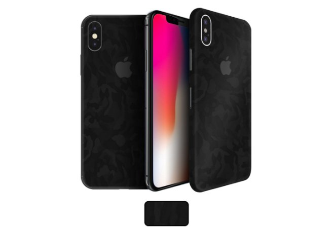 Skin iPhone X - Camuflada