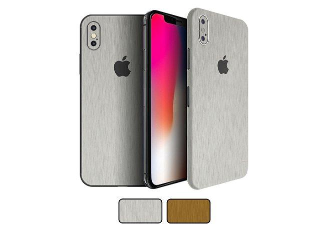 Skin iPhone X - Metal